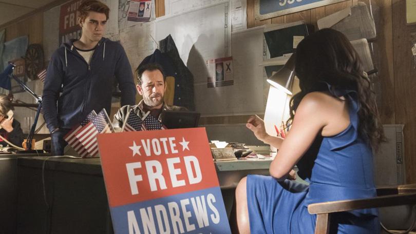 Fred Andrews burgemeester Riverdale